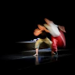Dance (Santarelli Luca   lulcera) Tags: woman black blur dance nikon danza donne spettacolo mosso d3200