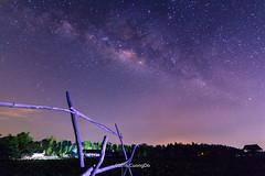 Milky way at countryside (cuongchido) Tags: longexposure trees light sky tree canon way outdoor tokina milky landsape canon60d tokina1116mm