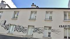 Kraken_2217 rue de la Folie Mricourt Paris 11 (meuh1246) Tags: streetart paris animaux kraken pieuvre poulpe paris11 ruedelafoliemricourt