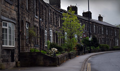Piper Lane (StevenParsons42) Tags: road houses england stone yorkshire otley terraced
