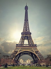 Eiffel Tower: the Parisian icon (captainmorganme) Tags: paris france architecture eiffeltower eiffel icon