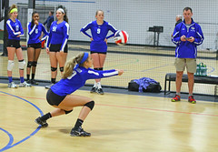 IMG_1110 (SJH Foto) Tags: school girls club high team teenagers teens volleyball bump tweens