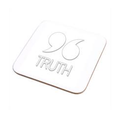 rethinkjft96 coaster truth (rethinkthingsltd) Tags: baby liverpool design justice truth respect protest tshirt mug local coaster 96 typographic scouser babygrow jft rethinkthings