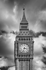 Elizabeth Tower and Big Ben (Photos By Clark) Tags: england london europe unitedkingdom canon20d places location where locale canon1740 170400mm