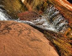 Sedona Stream (KnightedAirs) Tags: red arizona water rock digital canon photography photo stream sedona powershot hdr s100
