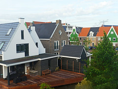 Crowded (Reinardina) Tags: houses roof holland netherlands dutch architecture estate pylon crowded