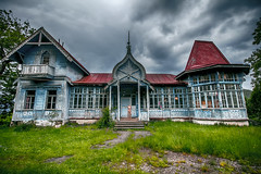 abandoned  place in Kojori / Georgia (niniwitch) Tags: old house color abandoned architecture place story