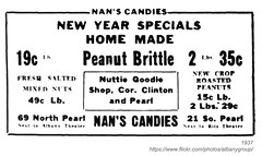 1937 nuttie goodie shop (albany group archive) Tags: ny shop candy clinton albany pearl 1937 goodie nuttie
