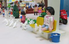 Harbor 34 (TimSpfd) Tags: playmobil harbor hotel diorama toys