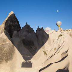 Shadows (tclemitson) Tags: turkey hotairballoon cappadocia goreme kapadokya kapadokyaballoons