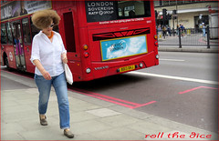 `1678 (roll the dice) Tags: london swisscottage finchleyroad nw3 londonist perm afro sad mad funny people natural wig hair wind bus travel transport streetphotography uk art classic urban unaware unknown england candid stranger portrait tourism canon fashion shops shopping poster sign sovereign ratp waitrose bad terrible bouffant hairdressers mop bighair billbailey advertising effects magic