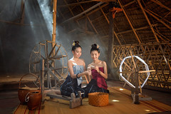 Thai dress style (SaravutWhanset) Tags: travel asian thailand asia traditional explore thai ethnicity exploer