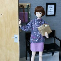 entrance hall (MINIMAGINE) Tags: miniatures doll dollhouse momoko dollfurniture onesixthscale momokodoll playscale momokodolls momokohome momokohouse minimagine