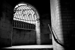 Scotsman Steps (Fearghl Nessbank) Tags: bw monochrome scotland blackwhite nikon edinburgh staircase blackdiamond greatphotographers scotsmansteps d700 nikonflickraward