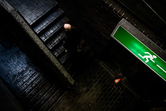No way out (tomabenz) Tags: street urban green london stairs streetphotography streetview