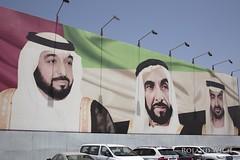 Abu Dhabi (Rolandito.) Tags: united uae billboard emirates arab abu dhabi emirate vae vereinigte arabische