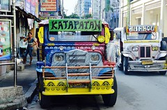 Marvelous transportation..... (tomk630) Tags: colorful philippines transportation ubiquitous beloved jeepney