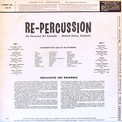 Re-Percussion Notes (davidgideon) Tags: records vinyl exotica lps