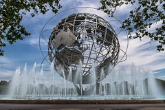 The Whole World (Gary Burke.) Tags: unisphere earth world globe icon newyorkworldsfair landmark worldsfair nyc queens ny flushingmeadowscoronapark flushing park pavilion newyorkcity newyork klingon65 gothamist dslr garyburke canon eos 70d canoneos70d ilovenewyork travel nyctravel citylife cityliving iloveny city outdoor ilovenyc newyorklife nycdetails queenscounty tourism touristattraction nycpark fb architecture iheartnewyork urban urbanphotography fountain water summer