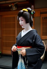 (nobuflickr) Tags: japan kyoto maiko geiko   korin  erikae    miyagawachou   20160609dsc02246