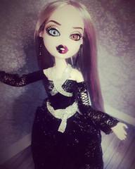 Bratzillaz Cloetta by Lavender Bratz (Lavender Bratz) Tags: bratz cloetta spelletta bratzillaz doll dolls girl mga ooak dollz custom customs customz lavenderbratz black gothic dark witch