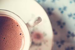 Hot chocolate 2 (WillemijnB) Tags: milk dof hotchocolate chocolademelk warmechocolademelk