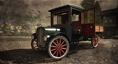 Classic Ride (Tripp Nitely) Tags: secondlife khaled truck antique classic landscape scenic rural country rustic