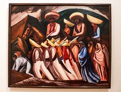 Zapatistas (Thad Zajdowicz) Tags: josclementeorozco zapatistas art painting museumofmodernart newyorkcity political mexican revolution peasants grim zajdowicz leica lightroom museum indoor inside availablelight artist creativecommons
