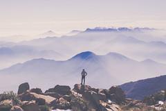 Cerro El Roble (Audentis fortuna iuvat.) Tags: clouds mountain trekking chile canon canonchile chilean landscape light 50mm natural nature