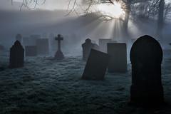 Earl Sterndale (JamesPicture) Tags: church earlsterndale graves peakdistrict lightrays england unitedkingdom