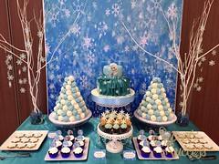 Frozen Dessert Table (sweetsuccess888) Tags: frozen philippines elsa dessertbuffet dessertbar sweetsuccess frozendesserttable