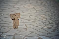 Camino hacia donde ests (Leles14) Tags: danbo minimalismo toys