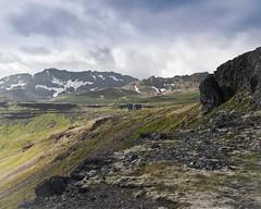 (geh2012) Tags: iceland sland snfellsnes ljsufjll fjall mountain klettar sk cloud gunnareirkur geh gunnareirkurhauksson