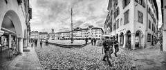 Scorcio di Udine 3 (Glimpse of Udine 3) (Goethe58) Tags: nikkor1835mm hdrpanoramas nikon1835 udine blackandwhite hdr blackwhite italy noireetblanc street model biancoenero nikond610 nikon610 landscape friuli love friuliveneziagiulia