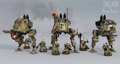 Tallarn Desert Raiders (Garry_rocks) Tags: lego mecha warhammer 40k imperial guard astra militarum tallarn desert raiders