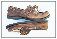 Adieu, My Dear Friends. (Mikec77) Tags: timberland deckshoes goodbye adieu