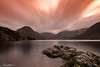 Wasdale Sunrise (breddenphoto) Tags: wasdale wastwater cumbria lakes lakedistrict canon long exposure lake sunrise clouds mountains fells hills scafellpike rocks england goldcollection