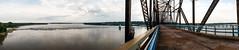 Chain of Rocks Bridge (Ivaj Aicrag) Tags: chainofrocksbridge mississippi river rio ruta66 route66 ruta route 66 pano panorama panoramic panoramica panormica usa estadosunidos bridge puente illinois stlouis missouri