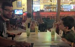 Three Mojito's (RobW_) Tags: rory alex sammy mojito cocktails freddiesbar tsilivi zakynthos greece thursday 18aug2016 august 2016