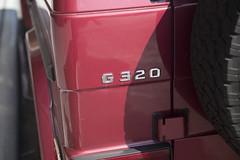1995 Mercedes-Benz G320 (vetaturfumare - thanks for 2 MILLION views!!!) Tags: mercedes mercedesbenz gklasse gelndewagen gwagen g320 1995 wallace labs red tribeca grey gray import