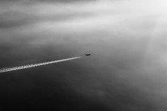 Jet plane from above (Chacky) Tags: jet plane from above fly flying europe traveling travel blackandwhite bw black block white whiteblack window seats airplane jetplane clouds sky cloud junkies canon canon600d color camera dslr minimali minimal minimalistic