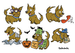 Character Design (theinkedmink) Tags: characters cartoons doodles characterdesign design cartoon