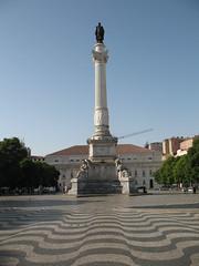 Praa de Dom Pedro IV (kpmst7) Tags: 2016 portugal europe iberia lisbon lisboa westerneurope southerneurope plaza tower monument nationalcapital