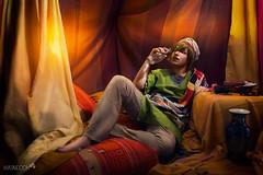 5 (haine.otomiya) Tags: free makoto anime manga tent warm drinking water pot sultan indoor shooting setting cosplay cosplayer