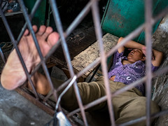 Prisoner? (Henry Sudarman) Tags: lumix gm1 petak9 petak9market market mirrorless humaninterest people street kota pl panaleica panaleica1517 panaleicadg1517 1517
