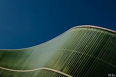 Belfort_0916-40-2 (Mich.Ka) Tags: belfort franchecomte abstract abstrait bâtiment façade grafic graphique green ligne line maison pignon urbain urban vert