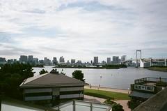 Odaiba, Japan (joshua alderson) Tags: ae86 r32 odaiba skyline japan tokyo fujifilm fuji klassew analog 35mm film kasai rinkai park edo museum natura 1600