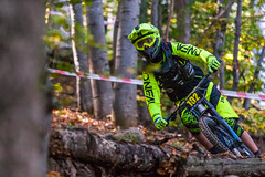 Home Mountain Bike Cup, Sofia (Petar Milev) Tags: mountain bike mtb home cup winner champion trail turn yelloow fall autumn red orange oneal extrem action durt track speed full ahead national wood forest daylight competition sofia bulgaria downhill junior sixteen happy excited overall