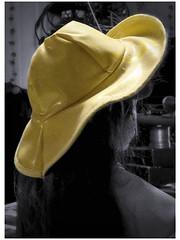 2016-10-12 Rainwear (Mary Wardell) Tags: yellow rainwear rainhat doll photoshop ps