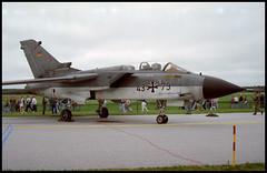 43+79 - Skrydstrup Air Base (SKS) 16.06.1996 (Jakob_DK) Tags: 1996 tornado gaf sks luftwaffe panavia germanairforce 4379 skrydstrup tornadoids eksp